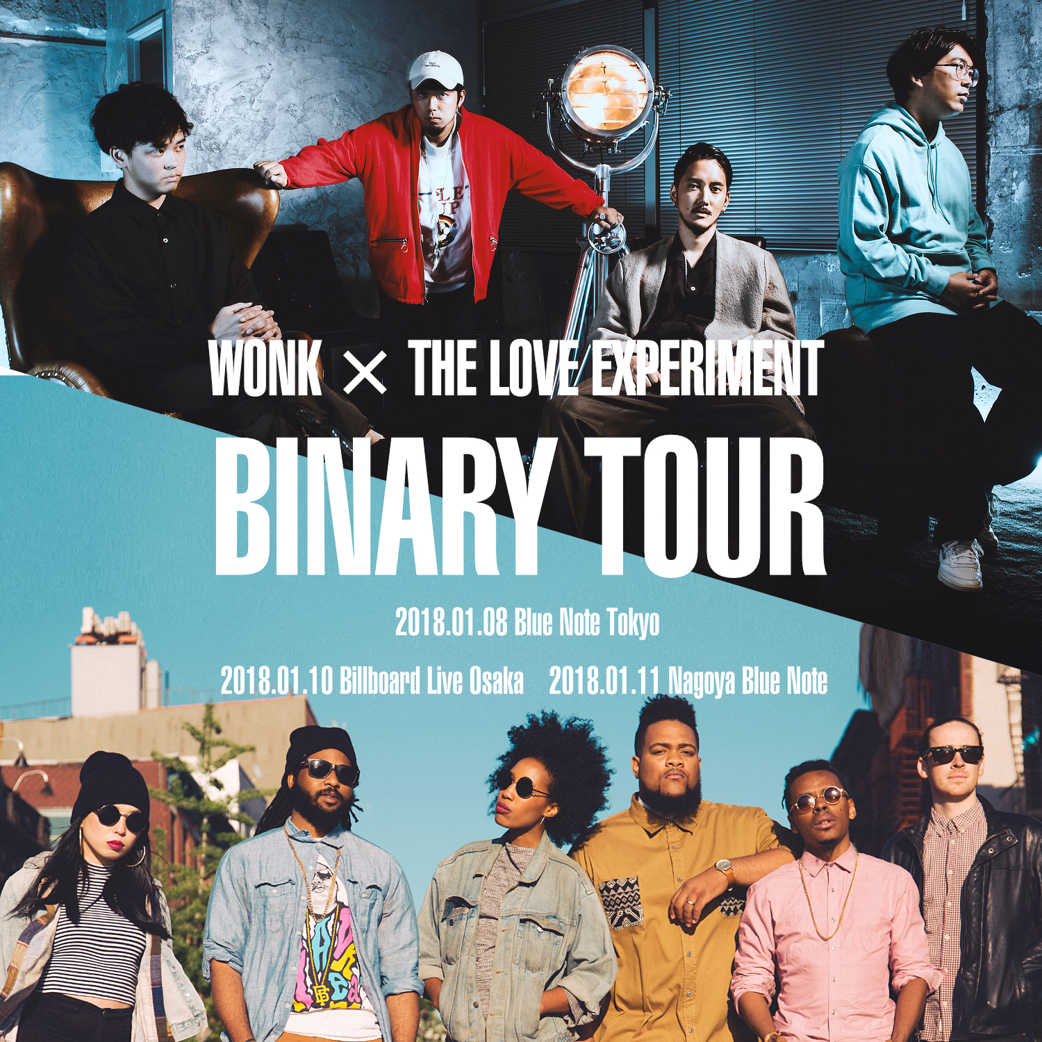 BINARY TOUR VISUAL