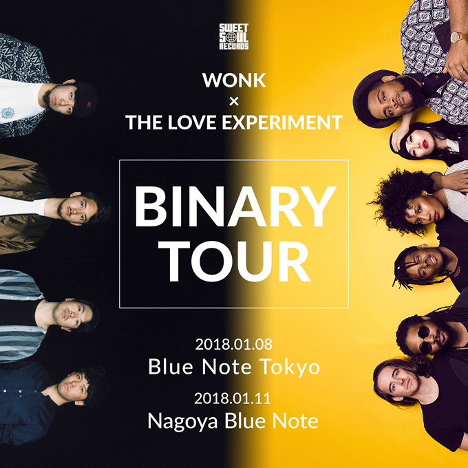 WONK THE LOVE EXPERIMENT BINARY TOUR